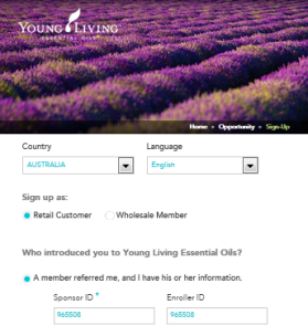 Young Living - Retail